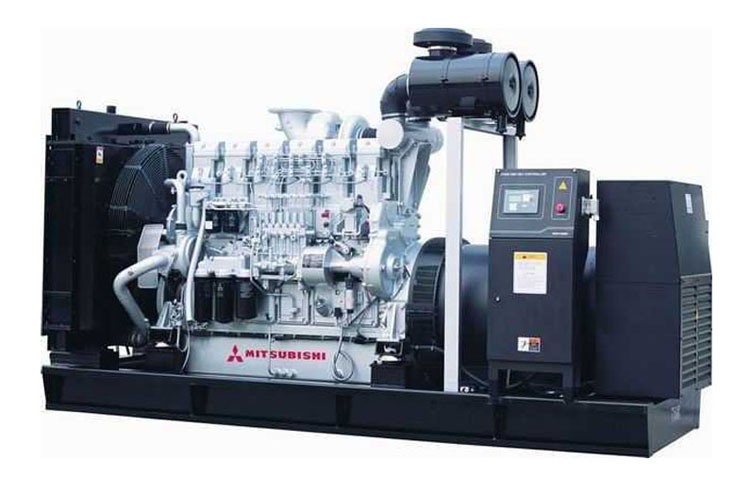日本三菱柴油发电机组