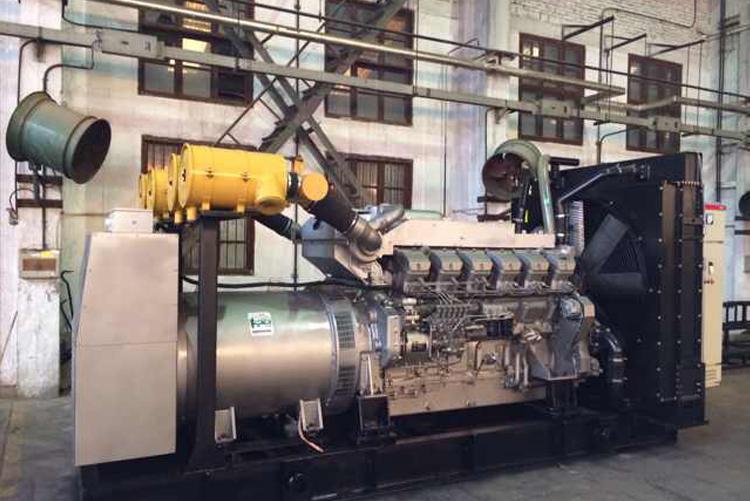 上柴菱重柴油发电机组